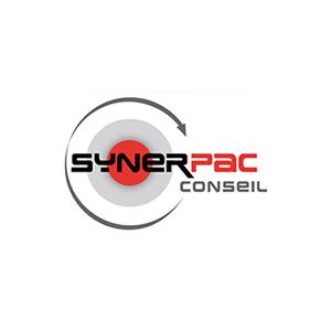 """Logo de Synerpac présent dans l'encart """"Partenaires"""""""