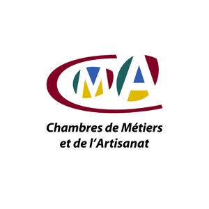 """Logo de la Chambre des métiers et de l'artisanat présent dans l'encart """"Partenaires"""""""