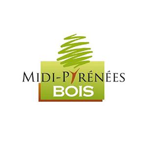 """Logo midi-pyrénées bois présent dans l'encart """"Partenaires"""""""