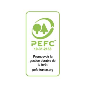 """Logo de pefc présent dans l'encart """"Partenaires"""""""